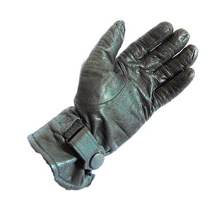 East German Army Leather Tanker Gloves